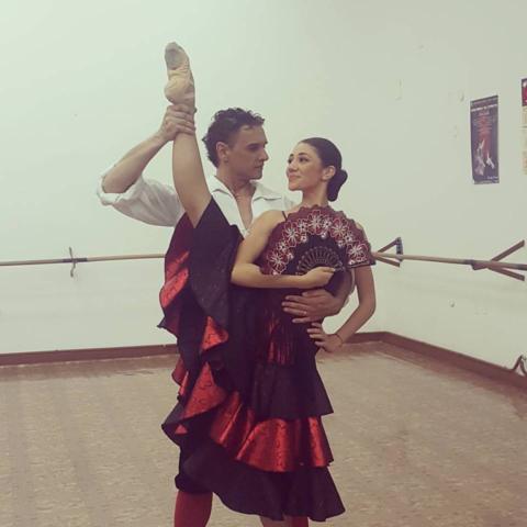 Кремена Костова - прима балерина